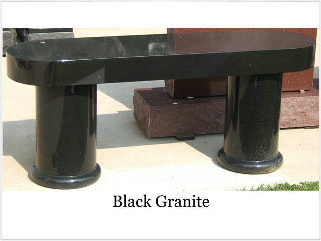 Memorial Niches and Benches From Hecox Goodwin, LLC.