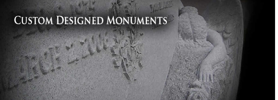 Custom Designed Monuments